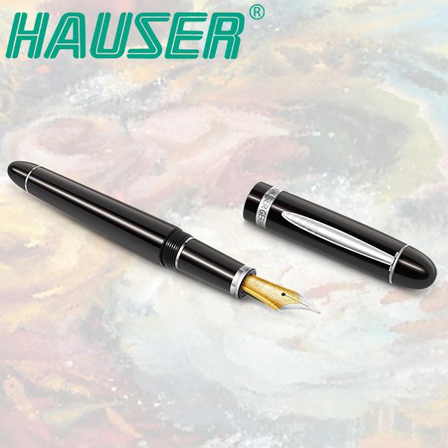 德國HAUSER 豪仕 CLASSIC ART NOUVEAU 新藝術鋼筆(雙尖)系列 6