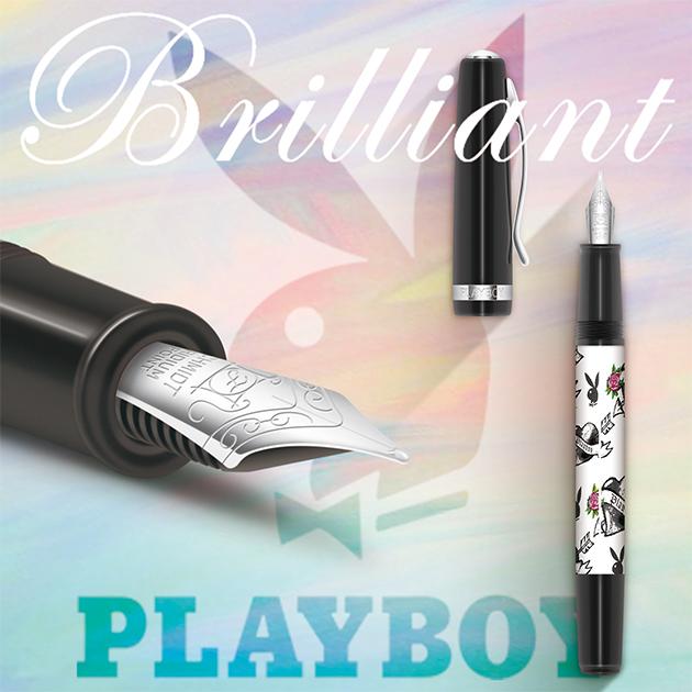 【限量絕版品】美國PLAYBOY Brilliant星燦鋼筆系列 (1) 1