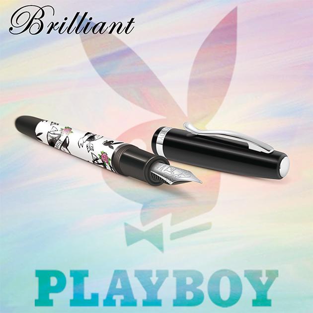 【限量絕版品】美國PLAYBOY Brilliant星燦鋼筆系列 (1) 3