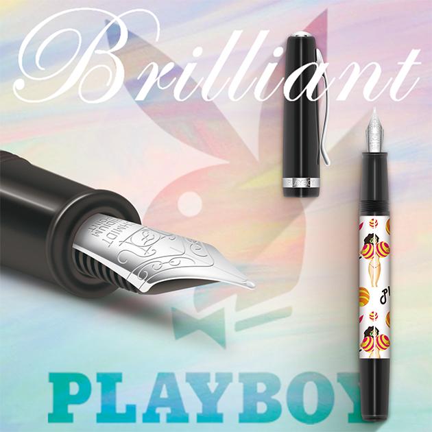 【限量絕版品】美國PLAYBOY Brilliant星燦鋼筆系列 (1) 7