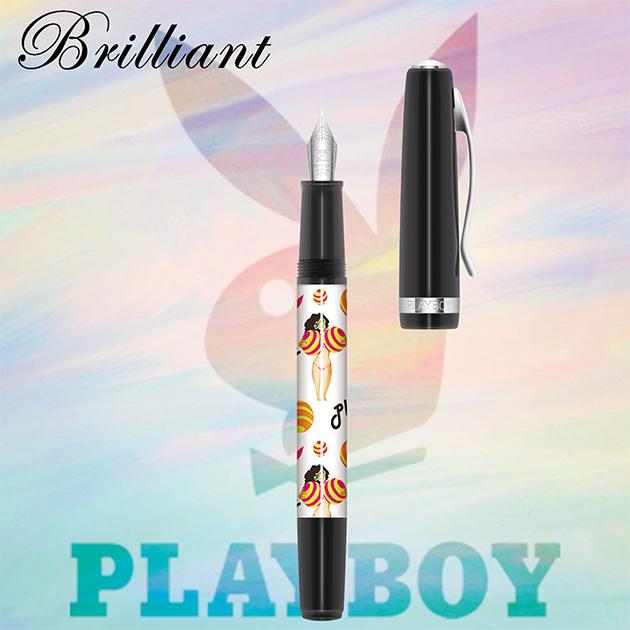 【限量絕版品】美國PLAYBOY Brilliant星燦鋼筆系列 (1) 8