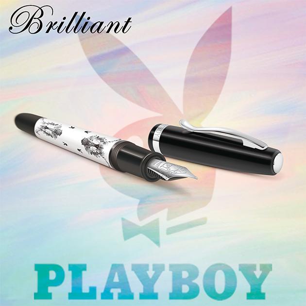 【限量絕版品】美國PLAYBOY Brilliant星燦鋼筆系列 (1) 12