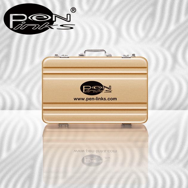 PEN-LINKS 繽紛輕巧鋁製公事包名片盒 1