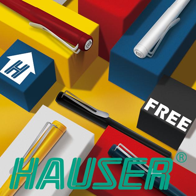 德國HAUSER豪士 FREE奔放鋼珠筆系列 1