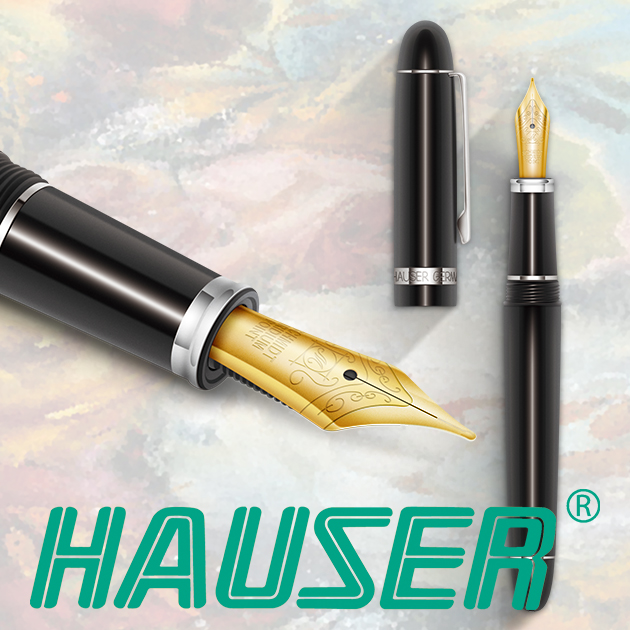 德國HAUSER豪士 CLASSIC ART NOUVEAU新藝術鋼筆(單尖)系列 11