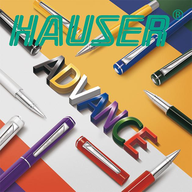 德國HAUSER豪士 ADVANCE先進鋼珠筆系列 8