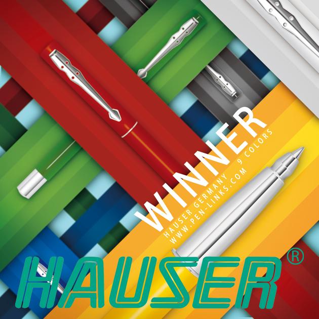 德國HAUSER豪士 WINNER 勝利鋼珠筆系列 1