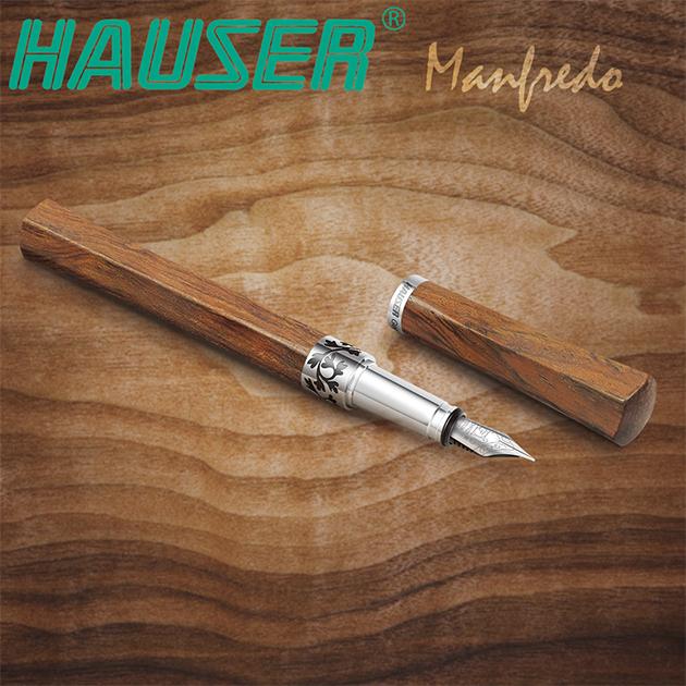 德國HAUSER豪士 MANFREDO 曼菲德原木鋼筆系列 6