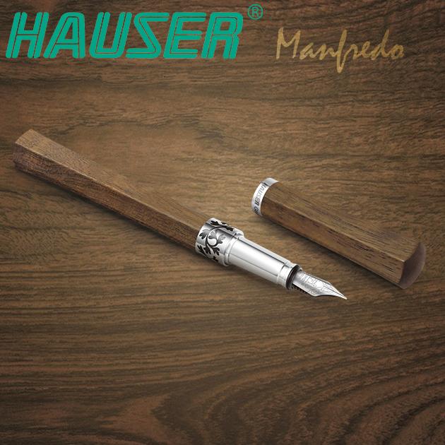 德國HAUSER豪士 MANFREDO 曼菲德原木鋼筆系列 9