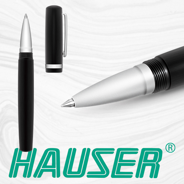 德國HAUSER 豪士  VIRTUOSO 鑑賞家 拋髮絲鋼珠筆 1