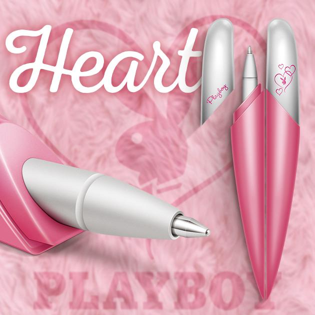 美國PLAYBOY Love Heart 筆翼雙飛原子筆對筆 1