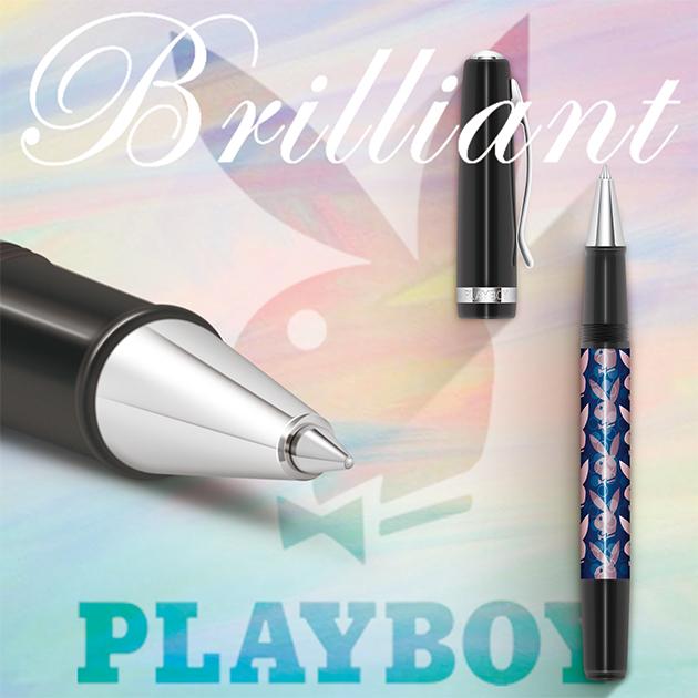 美國PLAYBOY Brilliant星燦鋼珠筆系列 (1) 3