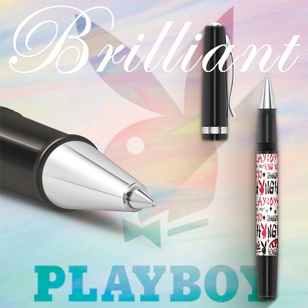 美國PLAYBOY Brilliant星燦鋼珠筆系列 (3) 1