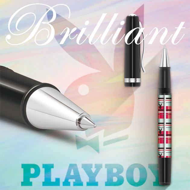 美國PLAYBOY Brilliant星燦鋼珠筆系列 (3) 4