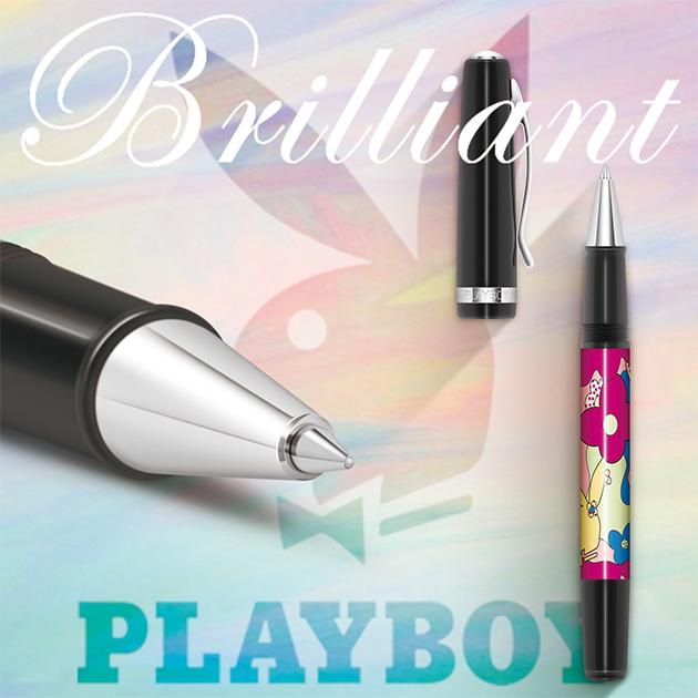 美國PLAYBOY Brilliant星燦鋼珠筆系列 (4) 1