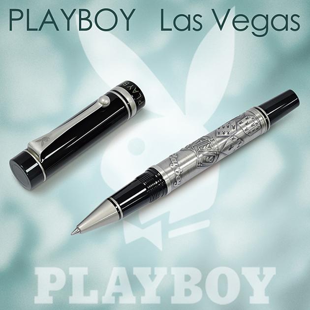 【限量絕版品】美國PLAYBOY Las Vegas 拉斯維加斯 對筆組合(贈卡水一組) 1