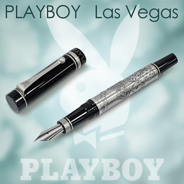 【限量絕版品】美國PLAYBOY Las Vegas 拉斯維加斯 鋼筆(贈卡水一組) 3