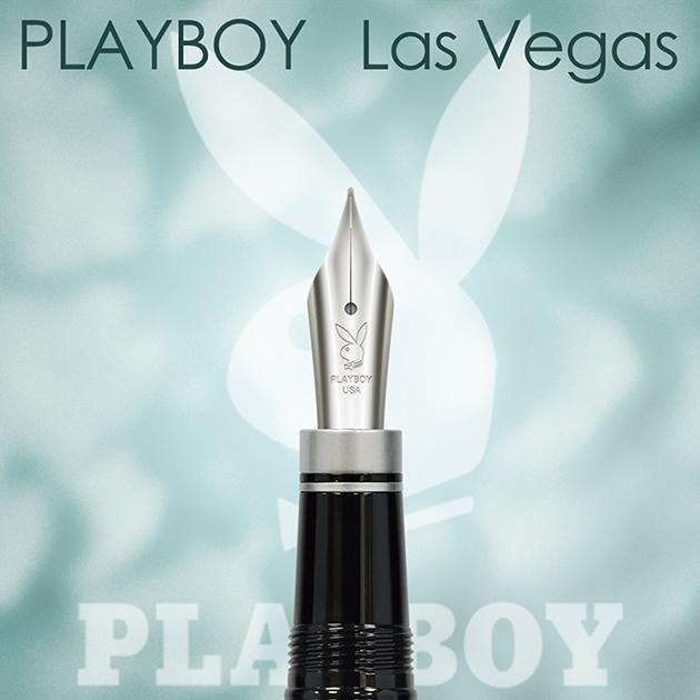 【限量絕版品】美國PLAYBOY Las Vegas 拉斯維加斯 鋼筆(贈卡水一組) 2