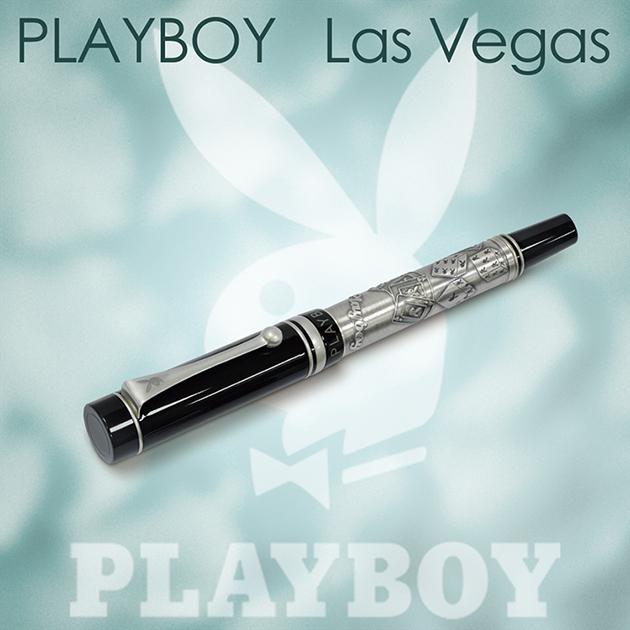 【限量絕版品】美國PLAYBOY Las Vegas 拉斯維加斯 鋼珠筆(另贈鋼珠筆芯一支) 2
