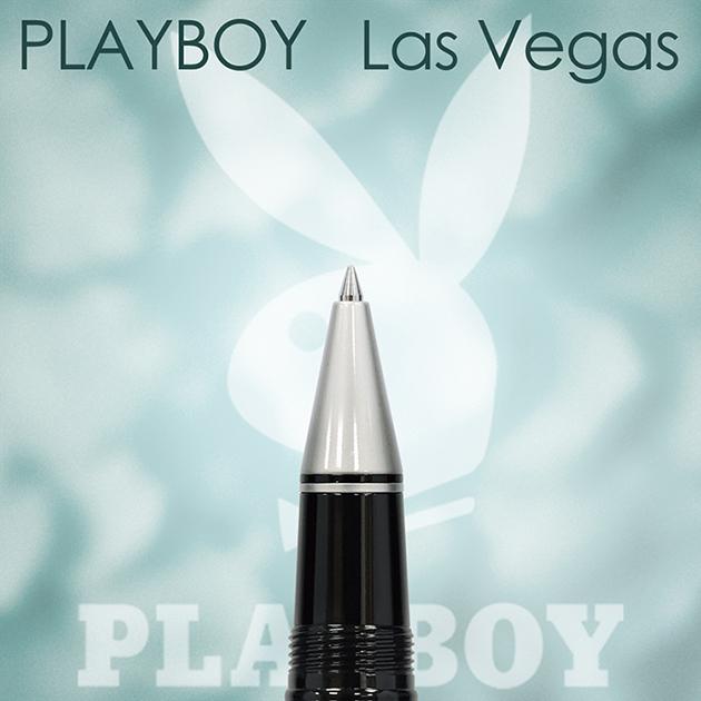 【限量絕版品】美國PLAYBOY Las Vegas 拉斯維加斯 鋼珠筆(另贈鋼珠筆芯一支) 3