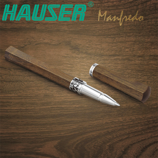 德國HAUSER豪仕 MANFREDO 曼菲德原木鋼珠筆系列 6