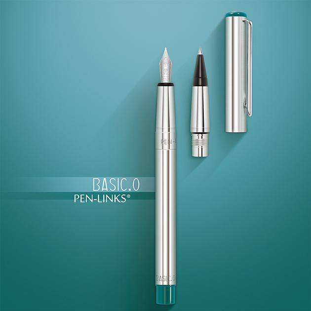 PEN-LINKS BASIC.O 貝斯可鋼筆+卡式鋼珠筆(組) 3