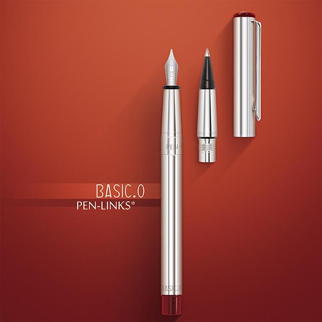 PEN-LINKS BASIC.O 貝斯可鋼筆+卡式鋼珠筆(組) 5