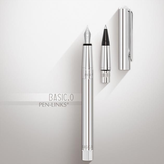 PEN-LINKS BASIC.O 貝斯可鋼筆+卡式鋼珠筆(組) 6