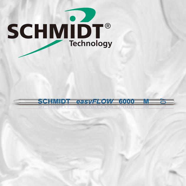 德國SCHMIDT EasyFLOW 6000M 溜溜低黏度超滑順D1短版原子筆芯   (3支/組) 3