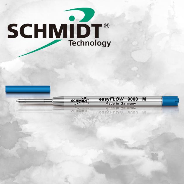 德國SCHMIDT EasyFLOW 9000M 溜溜低黏度超滑順原子筆芯 5