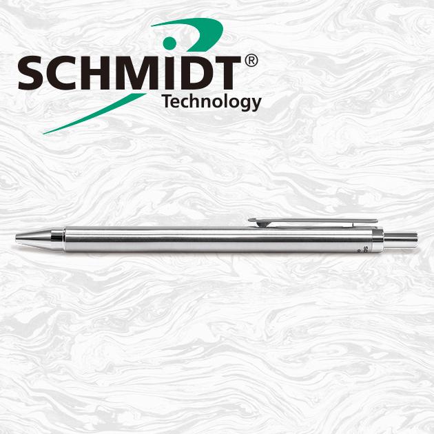 【限量絕版品】德國SCHMIDT VEMOS CS5 菲夢絲系列亮鉻鋼珠筆(S8126鋼珠筆芯) 9
