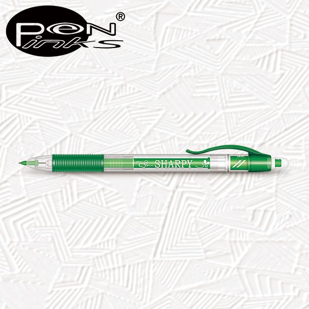 GB213 妙妙筆組合:含3支0.5mm鉛筆+10支鉛筆芯+1只水果造型橡皮擦 5